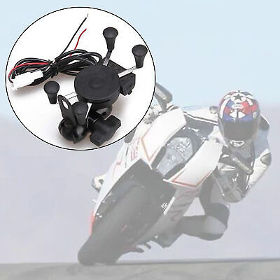 AU23.99 • Buy New X-Grip RAM Motorcycle Bike Car Mount Smartphone Holder USB Charger For Phone