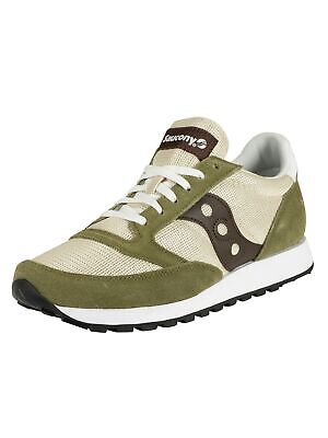 Saucony Men's Jazz Original Vintage Trainers, Green • 41.95£