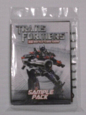 TransFormers 3D Battle Card Game 2007 Sample Pack Wizard Exclusive  • 7$