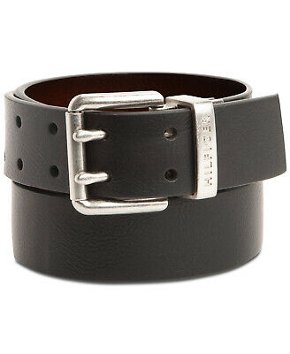 $25.99 • Buy Tommy Hilfiger Men's Casual Two Hole Double Prong Reversible Belt Brown/Black