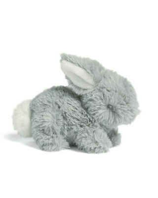 £12.99 • Buy Mamas & Papas Cute Grey Bunny Beanie Plush Soft Toy – Suitable From Birth