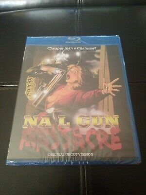 Nail Gun Massacre (1985) - Code Red Blu-ray - New Sealed • 25.03£