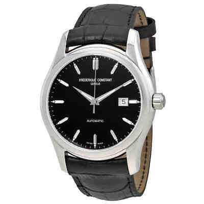 $434.27 • Buy Frederique Constant Automatic Black Dial Black Leather Watch 303B6B6
