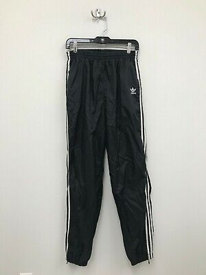 $ CDN29.99 • Buy Vintage Adidas Originals Trefoil Splash Track Pants - Size Medium - Black