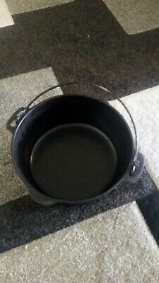 $ CDN33.56 • Buy Cast Iron Dutch Oven 5 QT.  No Lid. Unmarked Except For 5qt.
