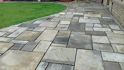 York Stone Slabs/ Flags, 2 -3   Top Quality Delivery Anywhere UK, Best On Ebay!! • 65£