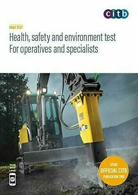 £10.80 • Buy Latest 2019 CSCS Card DVD Test For Operatives & Specialists  Multi-Language