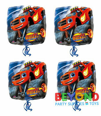 Blaze And The Monster Machines Happy Birthday Party Mylar Foil Balloon 18  • 10.30£
