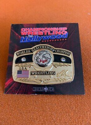 $ CDN31.25 • Buy Deluxe NWA Dome Globe Worlds Championship Belt Ten Pounds Of Gold