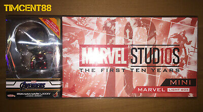 $ CDN192.45 • Buy Hot Toys Iron Man Mark LXXXV (Landing Version) Cosbaby & Marvel Mini Light Box