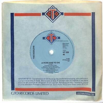 The Dooleys - A Rose Has To Die - 7  Vinyl Record Single • 3.25£