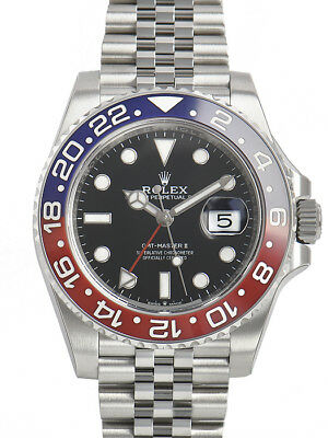 $ CDN26397.85 • Buy Rolex GMT-Master II 126710 BLRO Pepsi Bezel Jubilee Bracelet 40mm Mens Watch