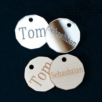 £2.19 • Buy Personalised Name Word Keyring Trolley Cart Wedding Party Token Fob Gifts Keytag