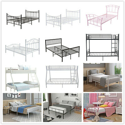 £125.98 • Buy Panana Metal Bed Frame 3Ft /4Ft6  Single Double/Bunk Bed/Triple Bunk Bed Sleeper