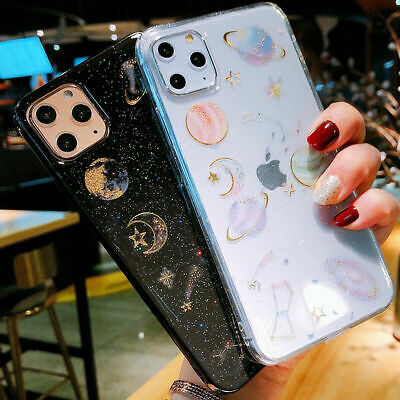 AU7.99 • Buy For IPhone 12 11 Pro Max XR 8 7 Bling Glitter Girls Women Patterned Case Cover