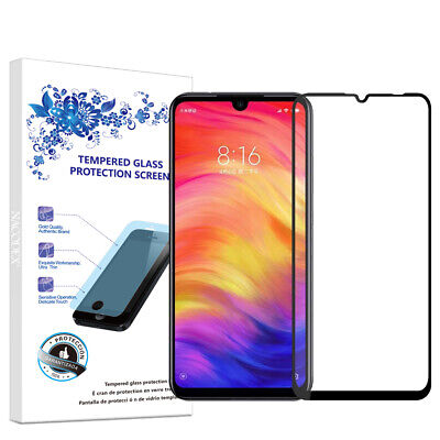 $6.13 • Buy For Xiaomi Redmi Note7S /Note 7 Pro Full Cover Tempered Glass Screen Protector