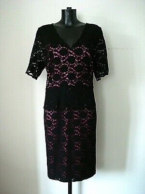 £19.99 • Buy Bn Kaliko Lace Dress Weddings Special Occasions Dress Size 20 / Euro 48