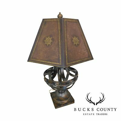 $635 • Buy Regency Style Metal Table Lamp Possibly Maitland Smith