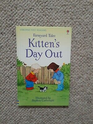 £3 • Buy BRAND NEW Usborne Farmyard Tales Kitten's Day Out First Reading Book