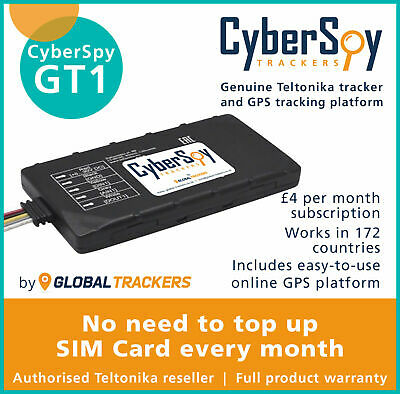 CyberSpy GT1 Car Tracker Device Vehicle Fleet Motorbike Car GPS Tracking System  • 69.99£