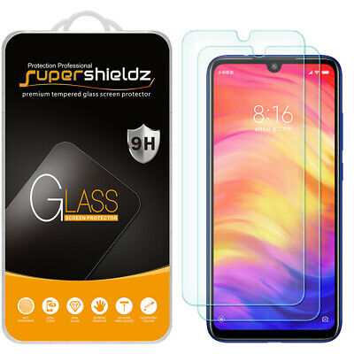 $7.49 • Buy [2-Pack] Supershieldz Tempered Glass Screen Protector For Xiaomi Redmi Note 7