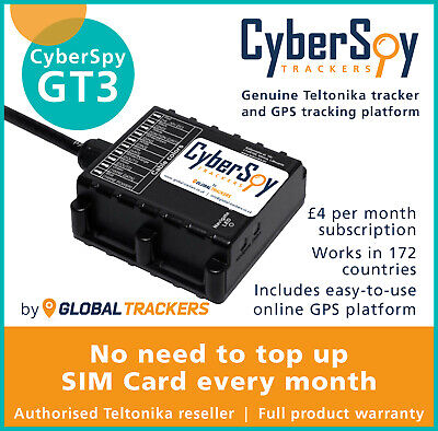 CyberSpy GT3 Car Caravan Tracker, Vehicle Tracking Bundle, Includes GPS Software • 84.99£