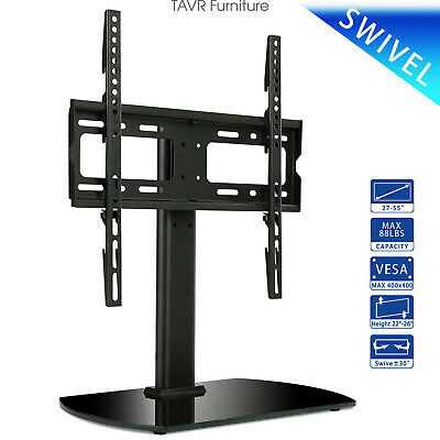 Table Top TV Stand With Swivel Mount For 27''-55'' LED LCD Flat Screen TVs • 33.24$