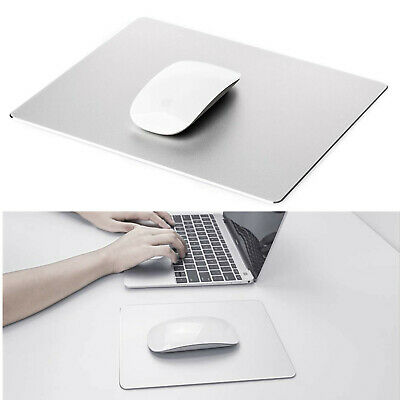 AU14.63 • Buy Aluminum Mouse Pad Mat Hard Smooth Magic Thin Waterproof Fast For Office Home AU
