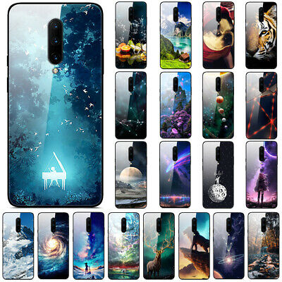 AU6.51 • Buy For OnePlus 7T Pro 6T 6 5T Gradient Painted Tempered Glass Hard Back Case Cover