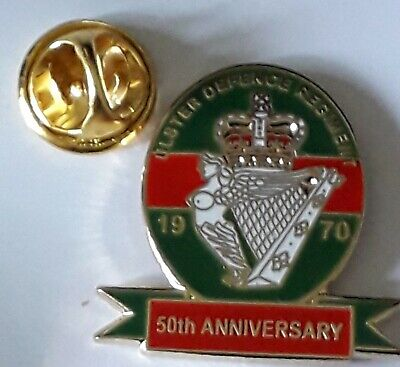 £3 • Buy Ulster Defence Regiment 50th Anniversary Lapel Badge Udr British Army Northern I