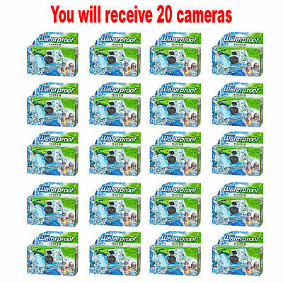 £124.21 • Buy 20x Fuji QuickSnap Waterproof 35mm Fuji Disposable/Single Use Underwater Camera