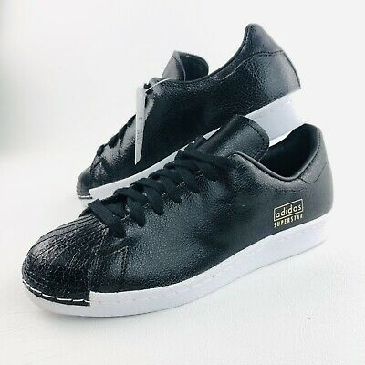AU49.45 • Buy New W Tags Adidas Originals Superstar 80's Black 7 US Mens Shoes Sneakers