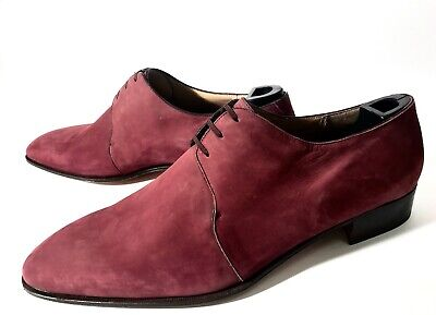 $ CDN594.43 • Buy New Artioli Bespoke Nubuck Leather Shoes Size 47-47,5, UK-13-13,5, US-14-14,5