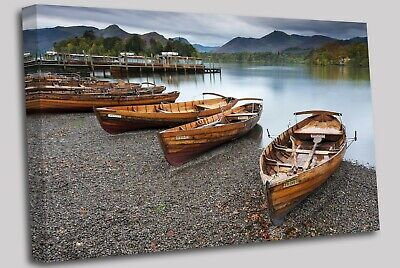 Keswick, English Lake District Canvas Wall Art Picture Print • 29.99£