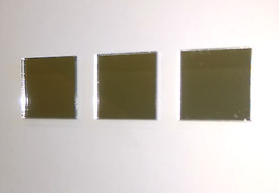 Square Mirror Acrylic Tile Lots Of Sizes. Shatterproof Material  • 13.50£