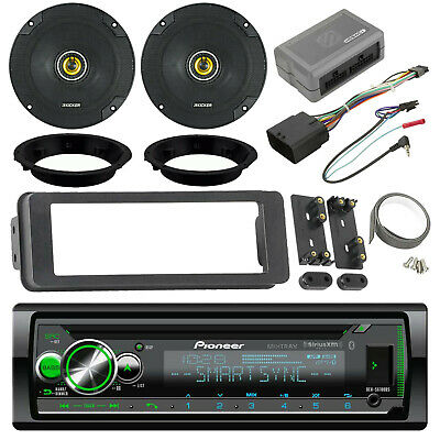 $278.99 • Buy Harley Touring Bluetooth CD Stereo Install Adapter Kit, 6.5 Speakers/Adapters