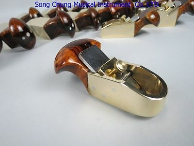 Thumb Brass Convex Bottom Planes2 1/4  Violin.cello Bass.woodworking Tool #7610 • 35£