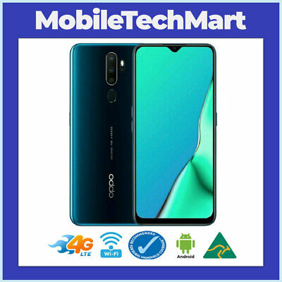 AU299 • Buy UNLOCKED◉OPPO A5 2020 Green◉4G LTE◉6.5  Screen◉ANDROID 9◉OCTA CORE◉16MP◉64GB◉Oz◉