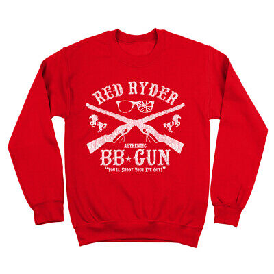 $ CDN39.90 • Buy Red Ryder Bb Gun  Funny Christmas Story Movie Outfit Red Crewneck Sweatshirt