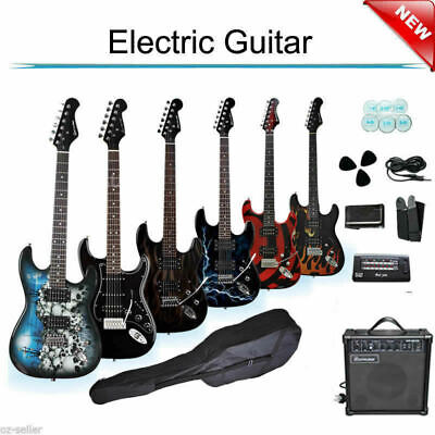 AU165 • Buy Electric Guitar With Amp Tuner Bag Pickup Strap Set
