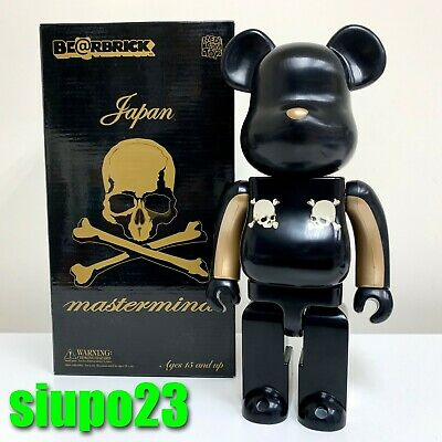 $485.99 • Buy Medicom 400% Bearbrick ~ Mastermind Japan Be@rbrick