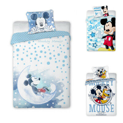 £13.25 • Buy Disney Mickey Mouse Baby Bed Linen 100x135 CM