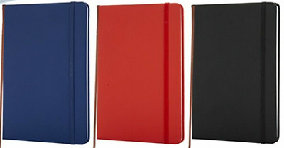 A5 New Lined Hardback Notepad Notebook Note Book Notes Journal Diary Colours • 2.99£