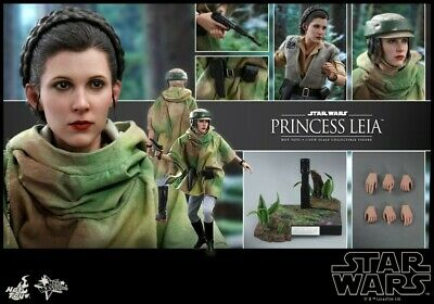 $ CDN370.50 • Buy Hot Toy 1/6 Princess Leia Action Figure Set Star Wars VI With Stand MMS549 Toys