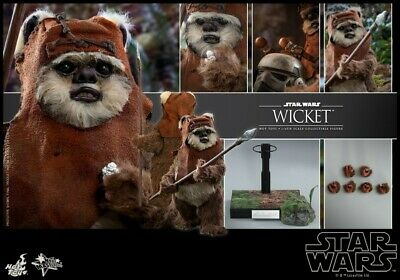 $ CDN308.55 • Buy Hot Toy 1/6 Wicket Movable Action Figure Set With Stand MMS550 Model Toys