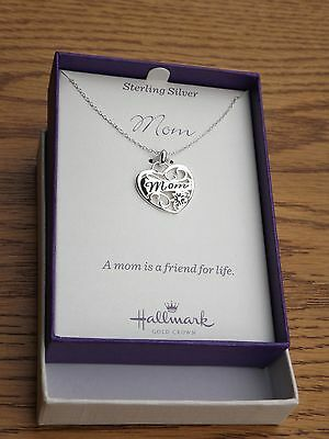 $ CDN39.95 • Buy Sterling Silver  Mom  Pendant & Necklace - Brand New - Lot Of 6