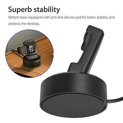$ CDN16.14 • Buy For Fitbit Versa Smart Watch USB Charging Cable Power Charger Dock Cradle Stand