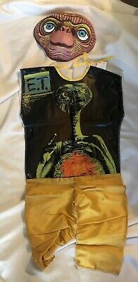 $49.99 • Buy Vintage E.T. Halloween Costume The Extraterrestrial Child Small 4-6 Yr Original