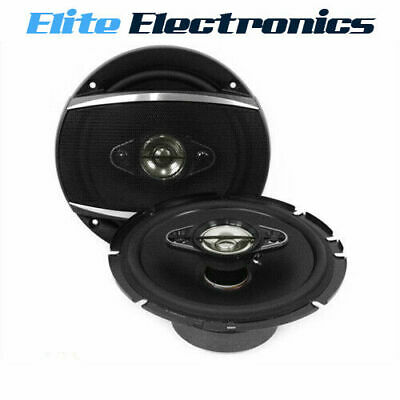 "AU114.85 • Buy Pioneer TS-A1680F 350W 6.5"" 4-Way Coaxial Car Audio Speakers"