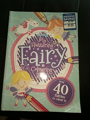 My Fluttering Fairy Colouring Book • 2.99£